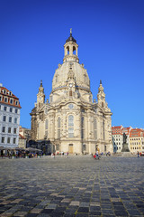 the famous Frauenkirche in Dresden Germany