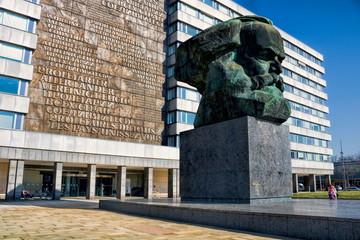 Chemnitz, Karl Marx-Denkmal