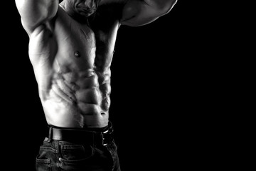 Man's power body