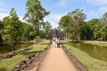 Baphuon temple at Siem Reap on Cambodia