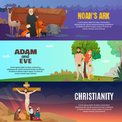 Bible Story Banners Set
