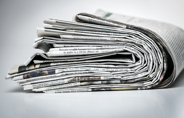 Lot of newspapers