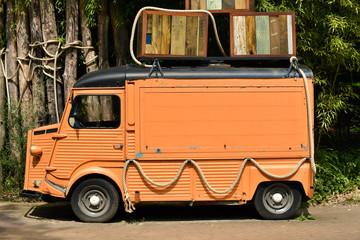 Old French Panel Van