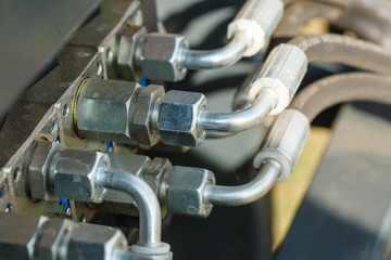 Industrial detailed pneumatic, hydraulic steel pump