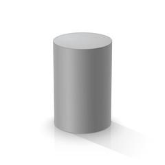 Grey cylinder