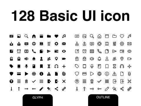Basic UI icon