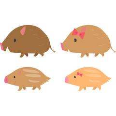 猪とうりぼう