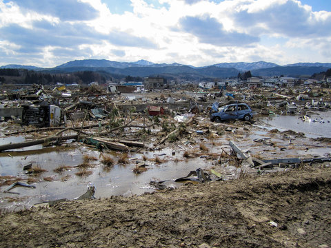 The Great Tohoku Earthquake and Tsunami Damage Misawa, Hachinohe, and Noda