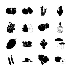 Fruits And Vegetables with coco palm, bombshell and citru