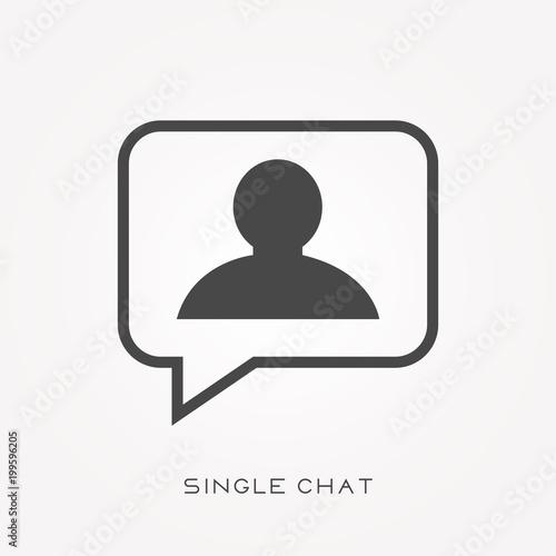 single chat net account