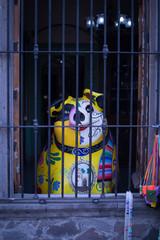 artesanias en calle de tlaquepaque jalisco mexico cultura viaje tradicion