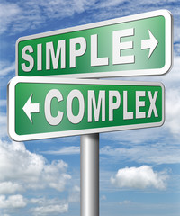 simple or complicated problem