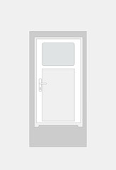 white door for home
