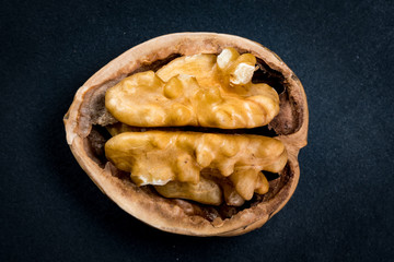 Walnut and Half Shell