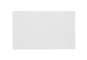White Card Isolated