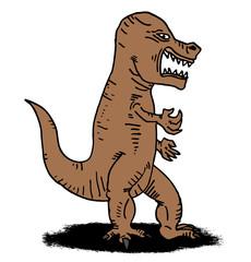 cartoon rebel t rex