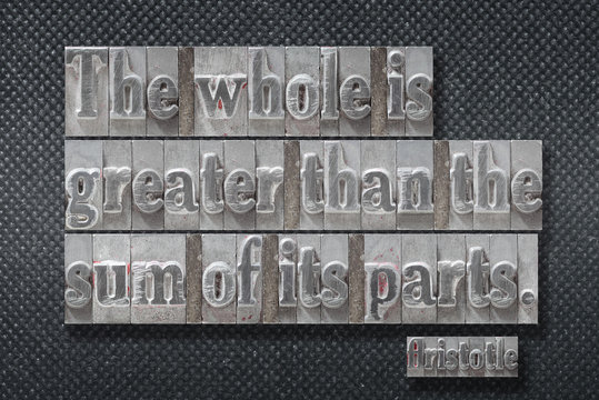 whole is greater Aristotle