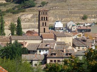 Acueducto de Segovia, ciudad y un municipio español en la parte meridional de la comunidad autónoma de Castilla y León (España)