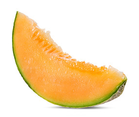 Wall Mural - melon isolated on white background