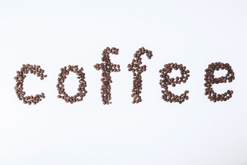 Creative coffee texture