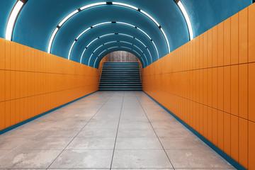 Bright subway metro