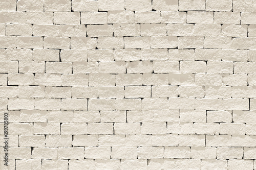 """Old Aged Rough Brick Wall Texture Background Painted In"