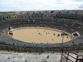 Nimes,ciudad de Francia en la región de Occitania all sur del pais con importantes restos romanos