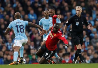 Premier League - Manchester City vs Manchester United