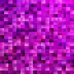Geometrical mosaic rectangle background - modern vector design from purple gradient rectangles
