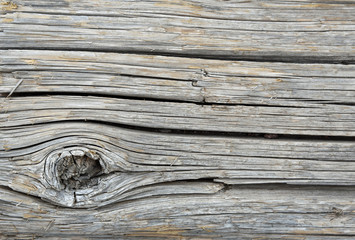 Weathered wood surface