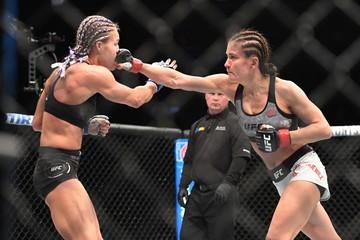 MMA: UFC 223-  Karolina Kowalkiewiza vs Felice Herrig