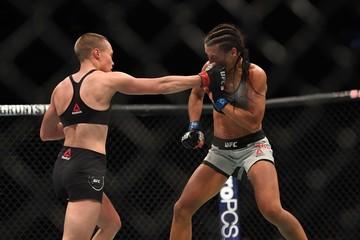 MMA: UFC 223 Rose Namajunas vs Joanna Jedrzezjczyk