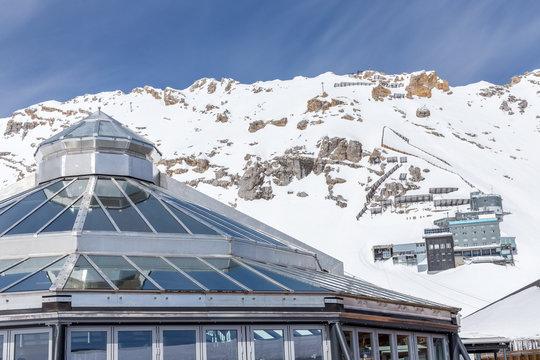 Station auf der Zugspitze