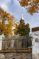 サスキズの要塞教会