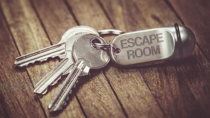 trousseau de clés :  escape room