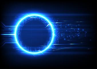 Light Technology Circuit Background