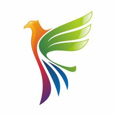 Eagle Logo Vector Template. Creative Logo Concept