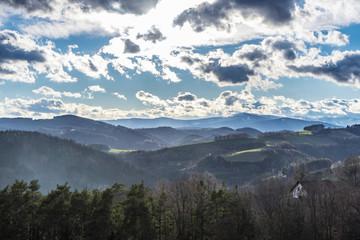 Austrian Landscape in Spring
