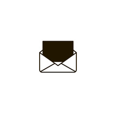envelope icon. sign design