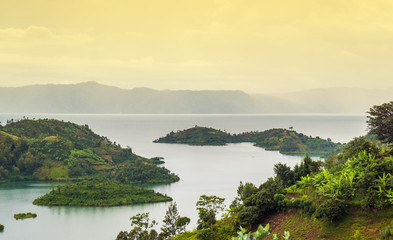 Lake Kivu, Rwanda Africa