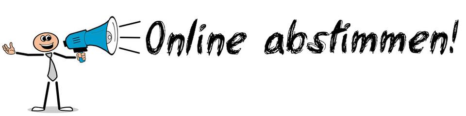 Online abstimmen!