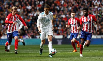 La Liga Santander - Real Madrid vs Atletico Madrid