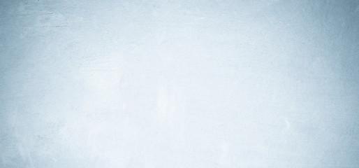 Fotobehang - Blank grunge blue cement wall texture background, interior design background, banner