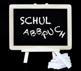 Schulabbruch Tafelbild