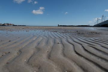 Niedrigwasser an der Ostsee  - Schleswig Holstein