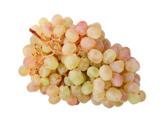 Bunch of ripe grapes isolated