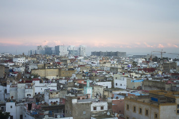 Casablanca city view from the top