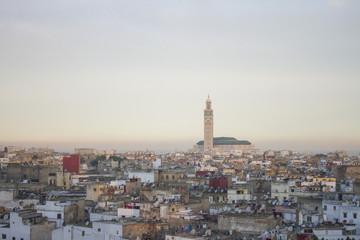 Sunrise ciy view of Casablanca