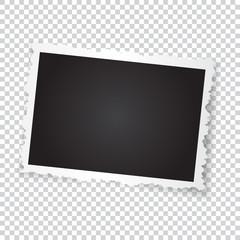 Retro photo frame.