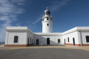 Cavalleria lighthouse in Menorca, Balearic Islands, Spain